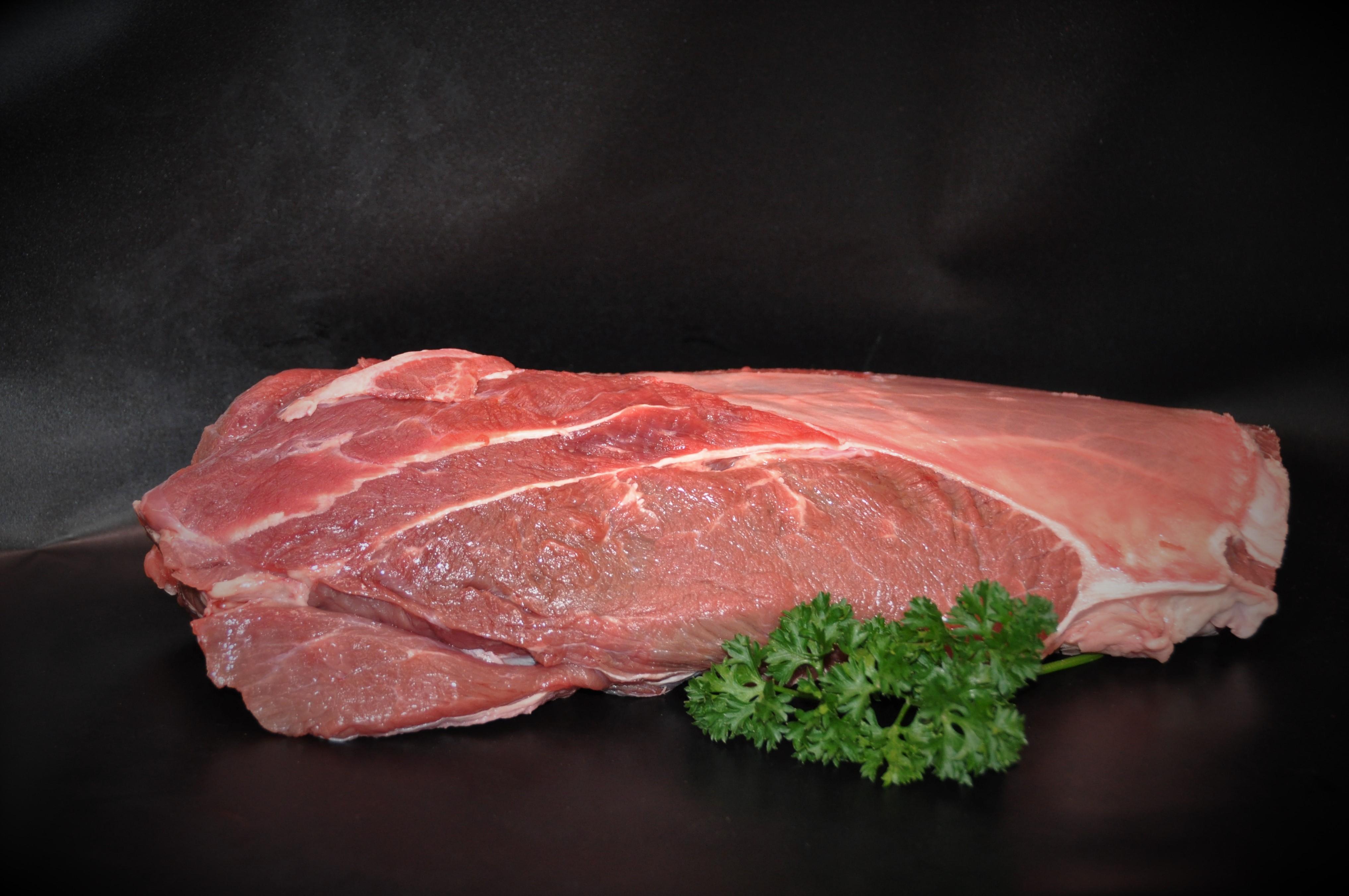 Suppenfleisch, Bratenfleisch vom Ochsen